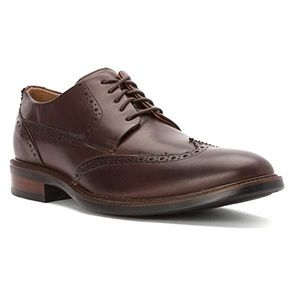 Cole Haan 11.5M Warren Wing Oxford Chestnut Shoes